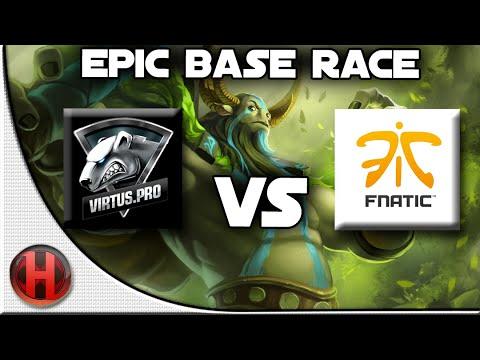 Dota 2 - Epic Base Race | Virtus Pro vs Fnatic | ESL One New York 2014