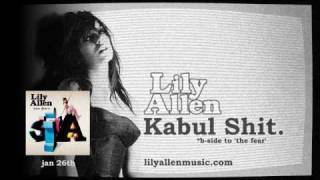 Watch Lily Allen Kabul Shit video