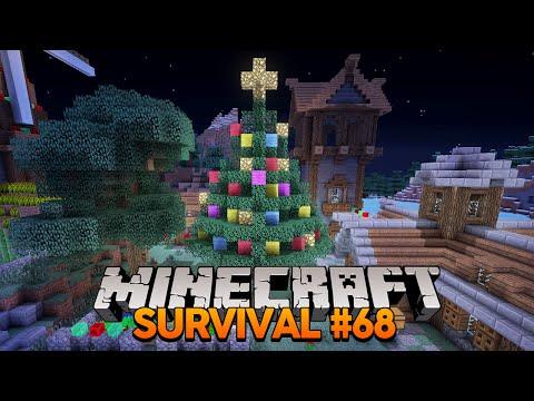 Minecraft Survival #68: A Árvore de Natal!