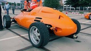 The LCC Rocket Car - Driving Sound!! Rare & Unique!