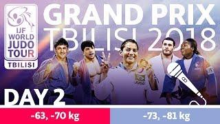 Judo Grand-Prix Tbilisi 2018: Day 2