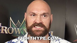 "TYSON FURY SPEAKS ON ""HARD REALITY"" OF WILDER REMATCH BEING JEOPARDIZED BY STROWMAN FIGHT"