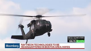 United Technologies, Raytheon Combine Into Aerospace, Defense Giant