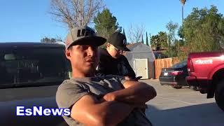 Robert Garcia Reveals Crawford Lost To Pelos Garcia At National Pals EsNews Boxing