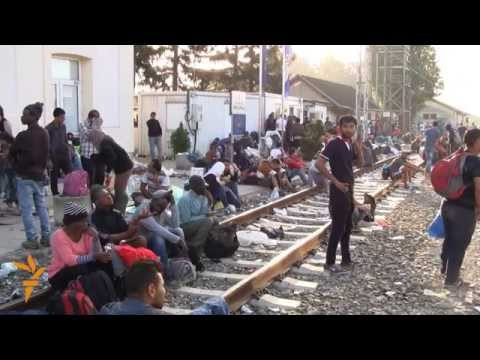 Migrants Forge Route Through Croatia