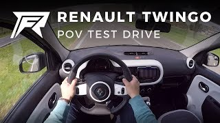 2018 Renault Twingo SCe 70 - POV Test Drive (no talking, pure driving)