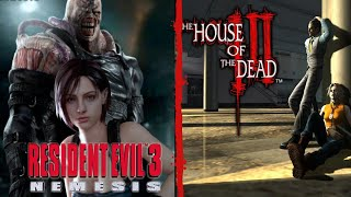 Resident Evil 3 - Speedrun Nemesis% (Pb 52:56) + The House of the Dead III - En Español