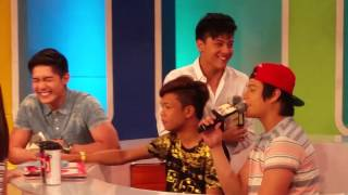 Daniel Padilla, Enrique Gil and Marlou on ASAP Chill Out