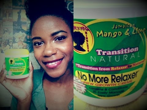 REVIEW! Jamaican Mango No More Relaxer New Growth Creme - Transition Natural