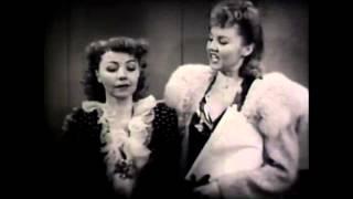 Alice White June Storey Scene From Girls Town 1942