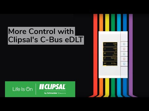 Clipsal C-Bus eDLT (Enhanced Dynamic Labelling Technology)