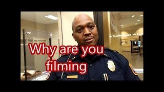 """Give THIS answer when asked, """"Why are you filming us?"""""""