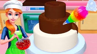 My Bakery Empire - Bake, Decorate & Serve Cakes Kids Games - Play Fun Cakes Cooking Colours Gameplay