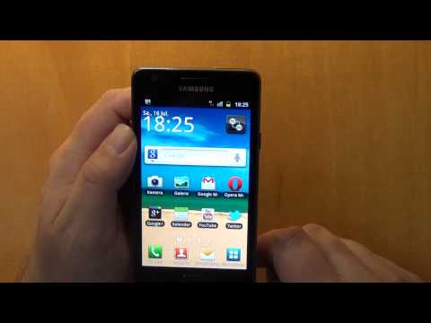 Samsung Galaxy S2 - Datenverbindung deaktivieren und sperren