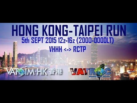 CAL621 Hong Kong-Taipei Run