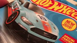 Hot Wheels Custom 2018 Ford Mustang GT (New for 2019! - Muscle Mania | Gulf Racing)