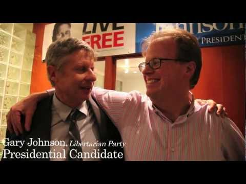 US Presidential Candidate Gary Johnson endorses Steve Collett