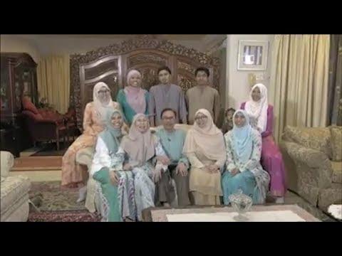 Perutusan Aidilfitri Anwar Ibrahim & Keluarga