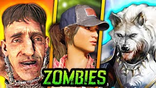 NEW ZOMBIES WOLF KING ARTHUR EASTER EGG IN BLACK OPS 4 (2 New Easter Eggs)