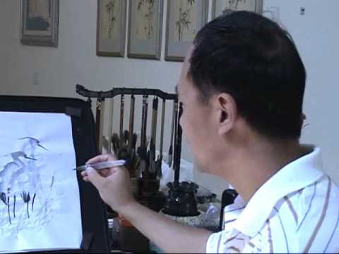 chinese painting ink
