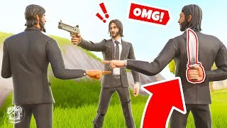 FIND the KILLER JOHN WICK or DIE! *SEASON 9* (Fortnite Murder Mystery)
