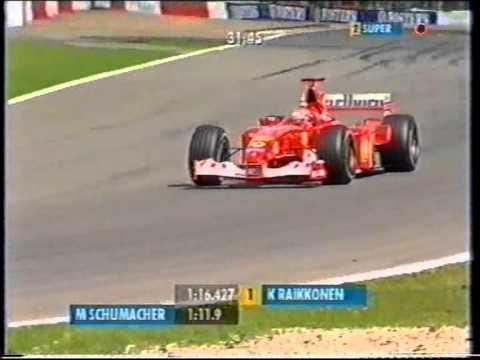 F1 Spa 2002 Qualifying - Michael Schumacher Lap