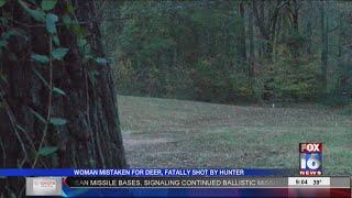 Woman Mistaken For Deer; Fatally Shot By Hunter