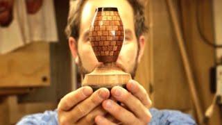 Segmented Miniature Vase