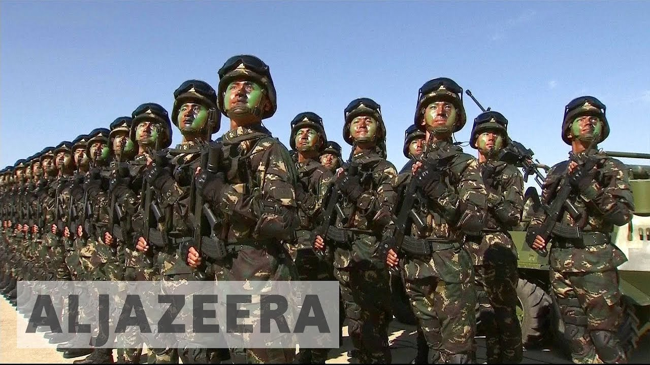 China marks army's 90th anniversary in huge military parade