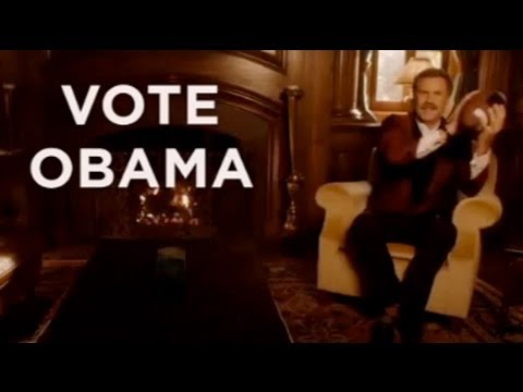 Funny video: Will Ferrell backs Obama