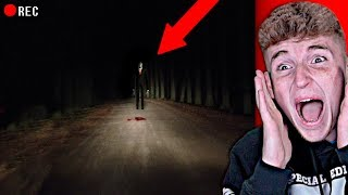 SLENDERMAN Spotted In Real Life.. (WTF)