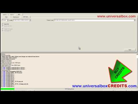 HOW to FLASH Nokia 5130c by UNIVERSALBOX (Dead Usb).www.universalboxCREDITS.com