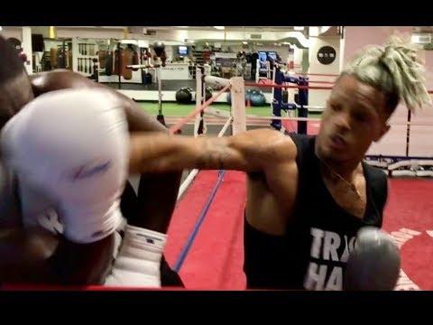 XXXTentacion PROVES He Can Box And Still Got Them Professional Hands!