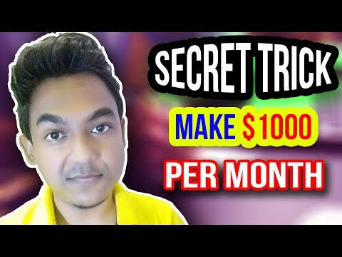 Secret Trick To Make $1000 Per Month By Writing Article