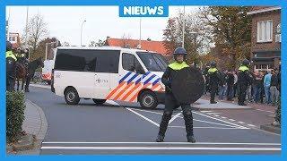 Burgemeester woedend op vechtende hooligans