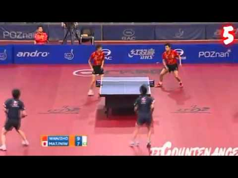 Watch the Best Hits of a Ping-Pong Match for the Year 2012