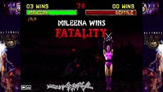 Mortal Kombat X MK2 Klassic & MK2 Original Fatalities