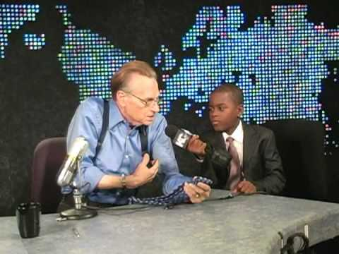 Larry King Interviewed by Damon Weaver Video