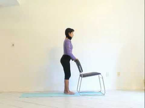Sturdy Chairs on Chair Sun Salutation Choose A Sturdy Chair To Aid With Your Practice