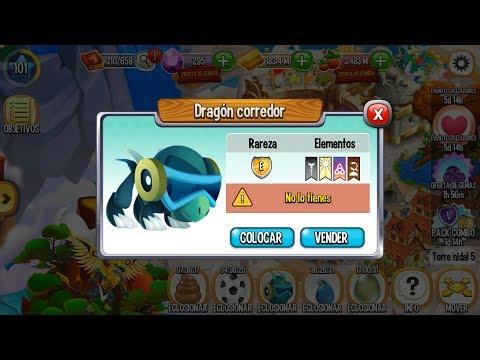Dragon City l Dragones Con 4 Elementos l Dragon Corredor