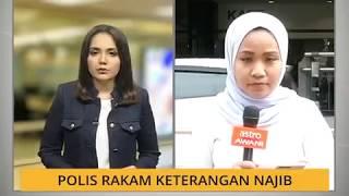 Polis rakam keterangan Najib