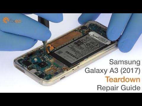 Samsung Galaxy A3 (2017) Teardown Repair Guide - Fixez.com