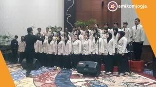 Mega Symphony  - Tanah Airku (At Wisuda 61 STMIK AMIKOM Yogyakarta)