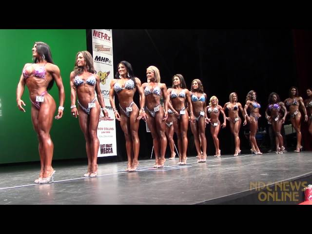 Figure 1st Callout at the 2013 IFBB New York Pro