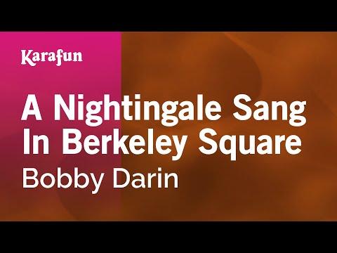 Bobby Darin - A Nightingale Sang In Berkeley