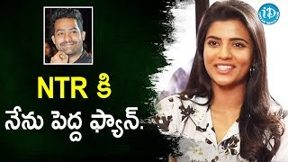 I am a Huge Fan of NTR - Miss Match Actress Aishwarya Rajesh | Talking Movies With iDream