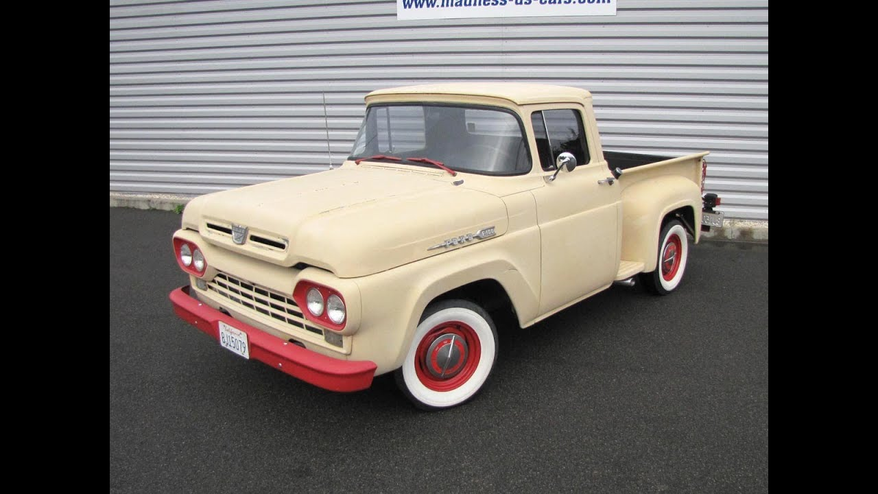 car trucks for sale in craigslist with Watch on 1968 Cadillac Deville For Sale In Westford Massachusetts 01886 together with Al Ritters Wicked Cool 1952 Chevy 3100 besides 1953 56 Ford Truck Short Bed also 43035 1985 Ford Thunderbird Elan 50 V8 Garage Kept 71k Miles further Spring Special 1965 Ford Econoline Pickup.