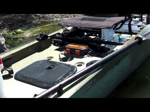 yakntexas- quick review ASCEND FS128T kayak fishing