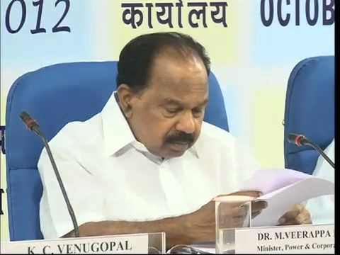 Address by Shri Veerappa Moily, Minister for Power & Corporate Affairs