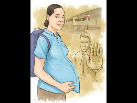 El Embarazo en las adolescentes en Rep. Dom.
